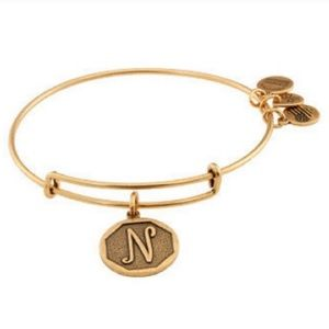 Alex and Ani bracelet initial N